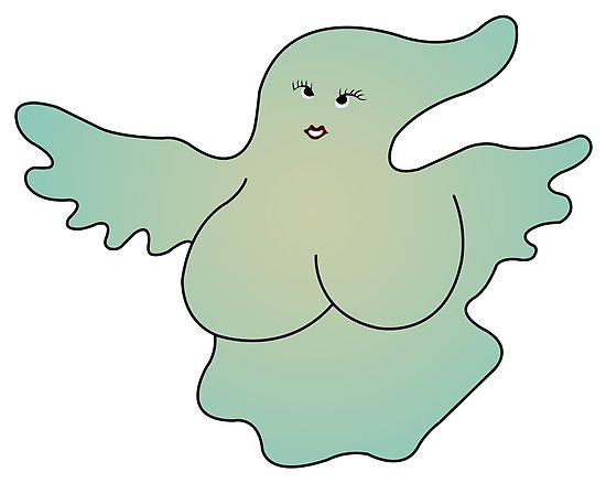 Ghost Boobs — or– How to Live with What Haunts You